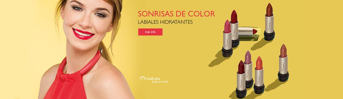 ef5fd1413 Diseño de banners para página de portal de maquillaje Argentina, Chile,  México, Perú y Colombia.