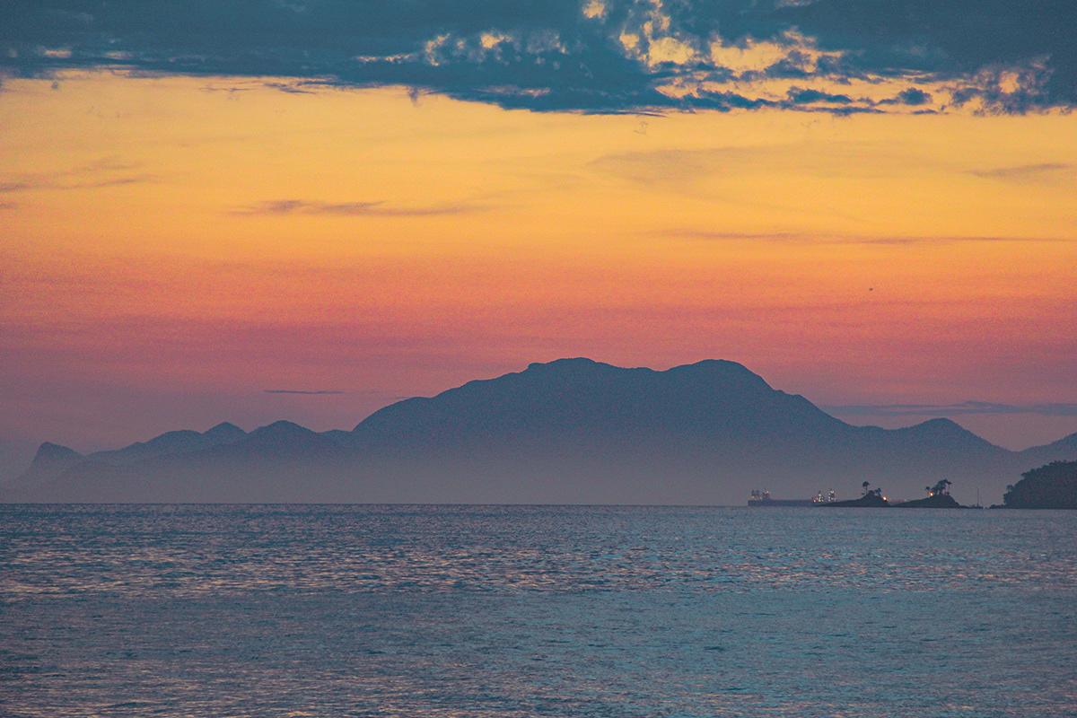 Fotografia fotografia de paisagem