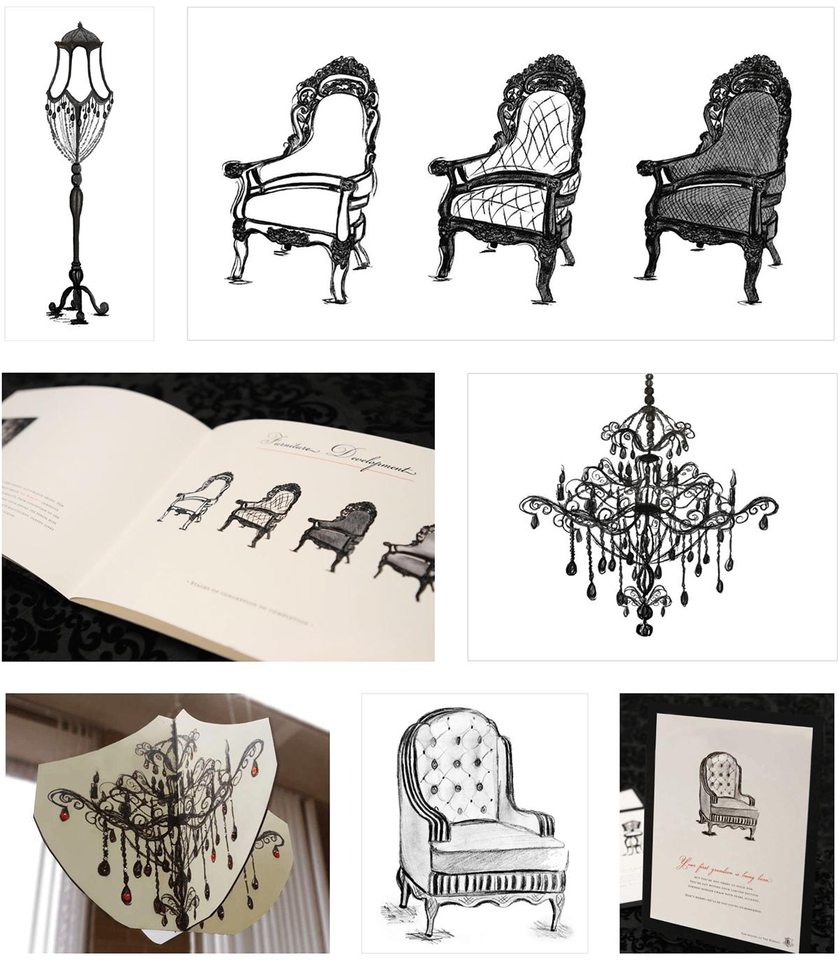branding campaign vintage furniture