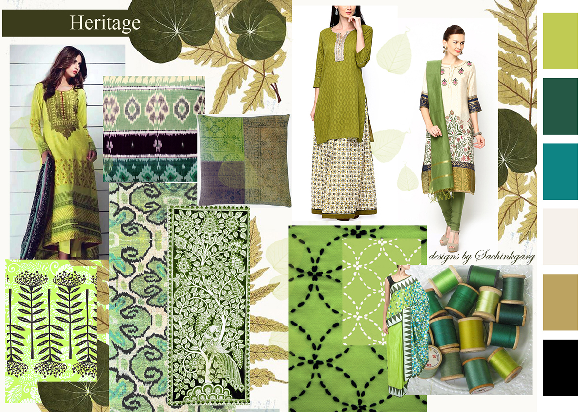 Ethnic Wear Designs Inspiration On Behance