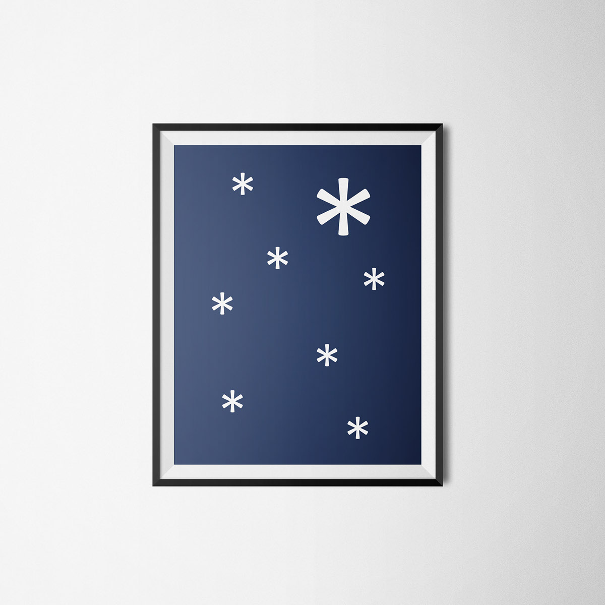typo graphic font Christmas art gift edit card Picture xmas Icon snow letter ABC