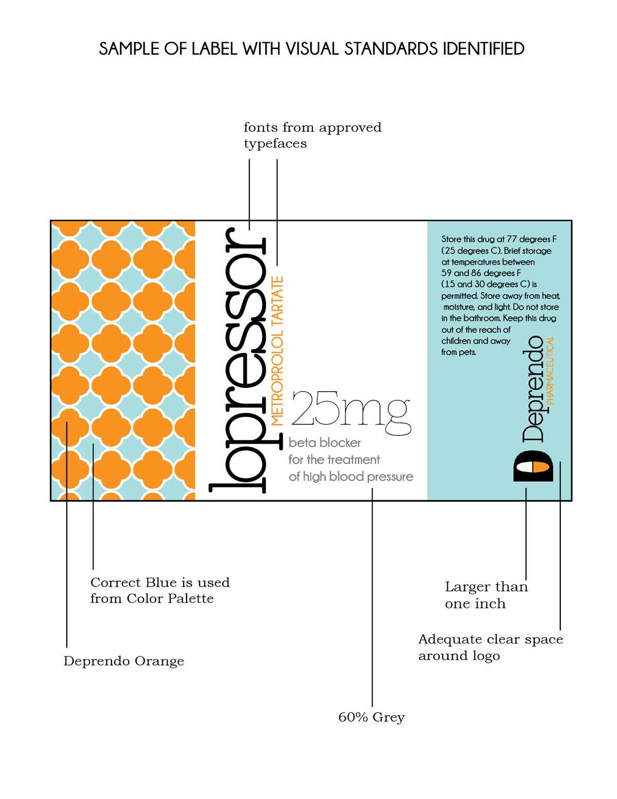 Deprendo Visual Standards Manual On Behance