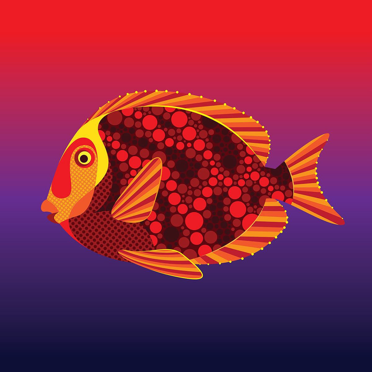 Endangered Tropical Fish. on Behance