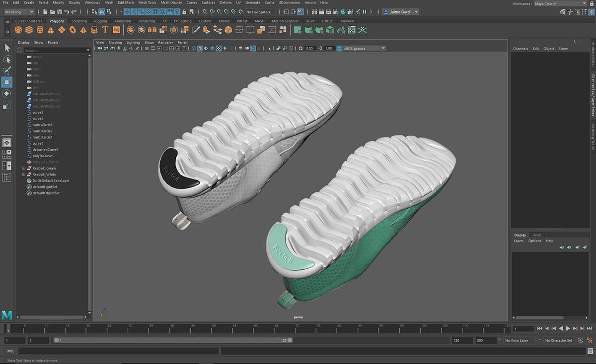 3D Footwear Lighting - IBL