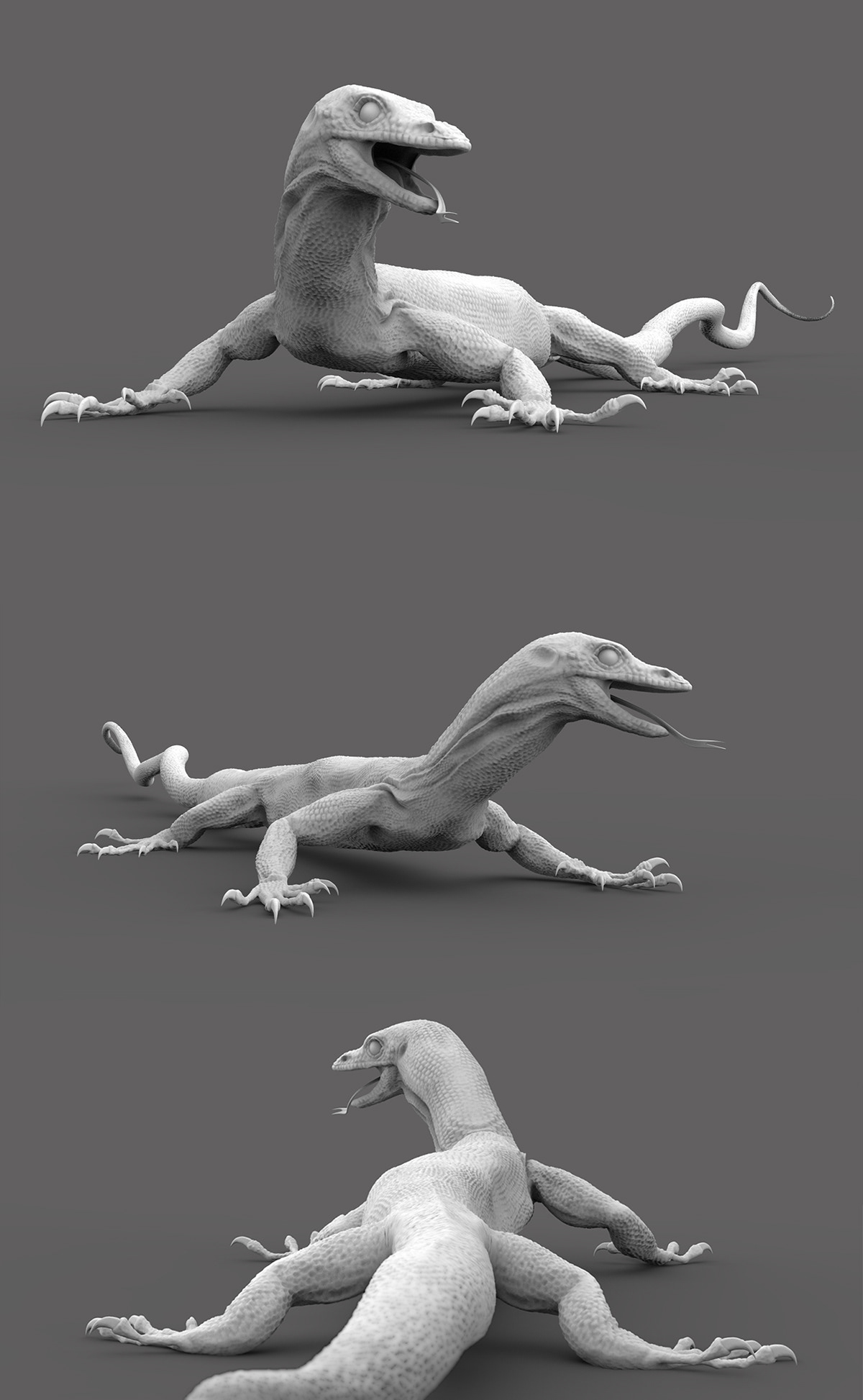 ZBrush sculpting on Wacom Gallery