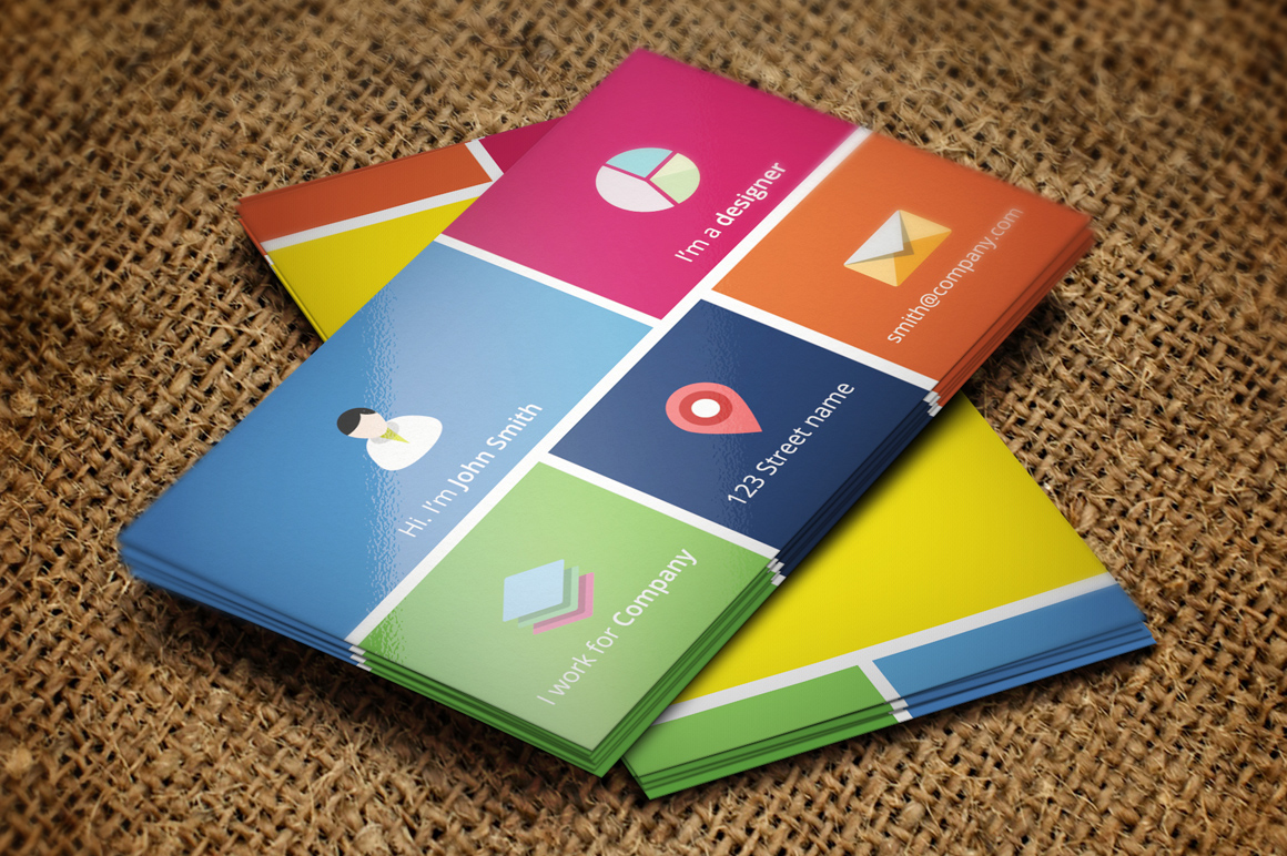 Metro style business card template on behance metro style business card template the design is based on the metro ui of windows 8 the style is simple yet modern and elegant and can be suitable for cheaphphosting