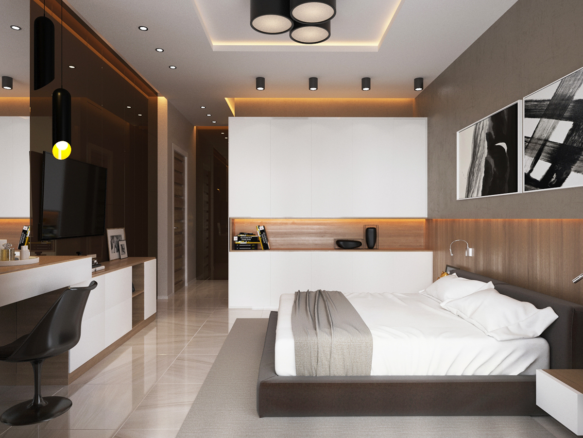 Design bedroom on Behance