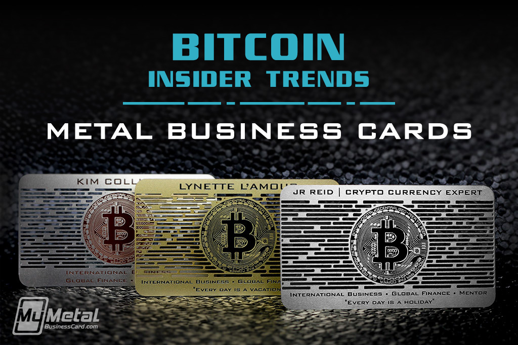 Metal business cards for bitcoin experts on behance thank you colourmoves