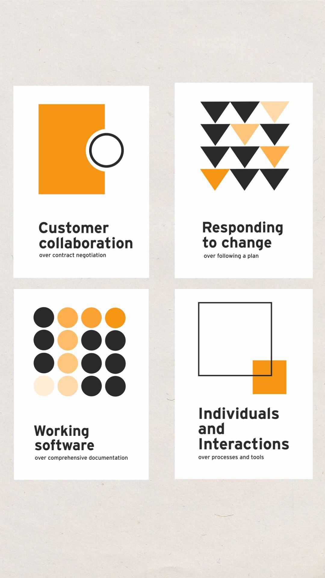 agileworking Design Inspiration graphic graphicdesign Minimalism poster Poster Design simple visual design