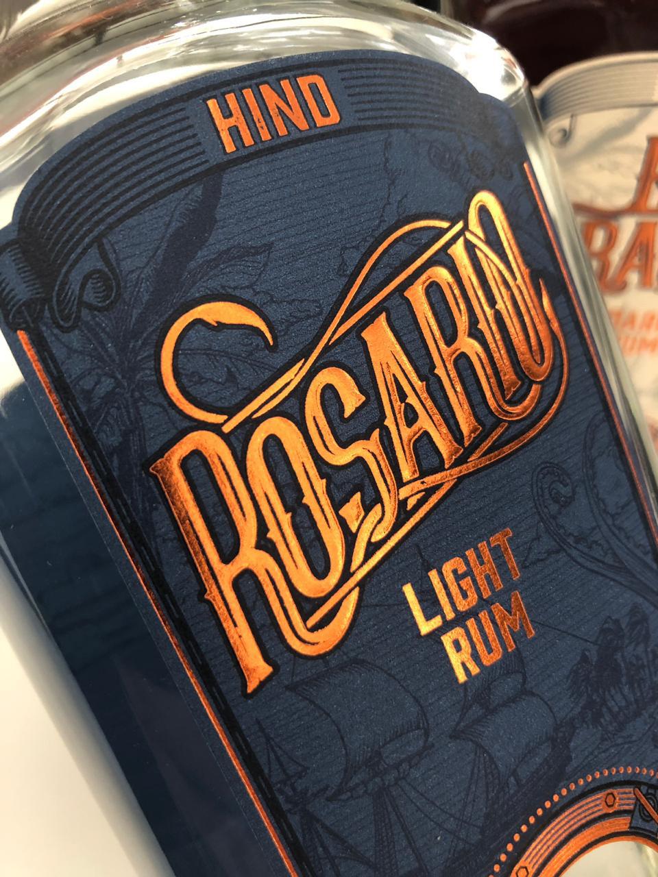 Packaging packagingdesign Rum darkrum lightrum design branding  typography