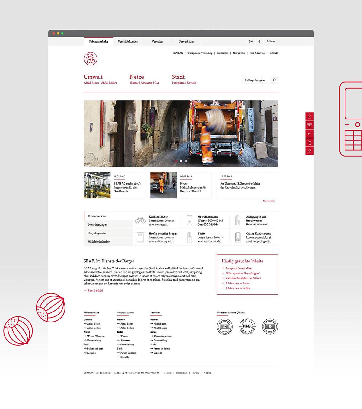 Webdesign südtirol Werbeagentur app Responsive design Designverliebt