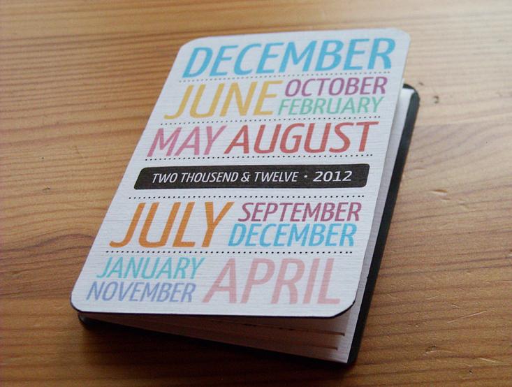 Pocket Calendar.Pocket Calendar 2012 On Behance