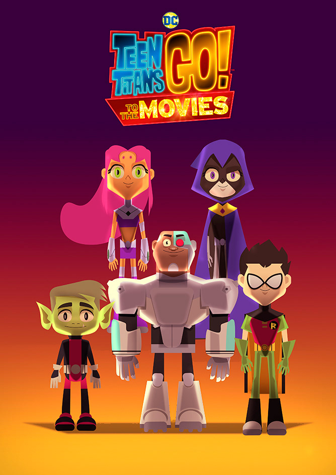 TEEN TITANS GO! TO THE MOVIES ART PRINT on Behance
