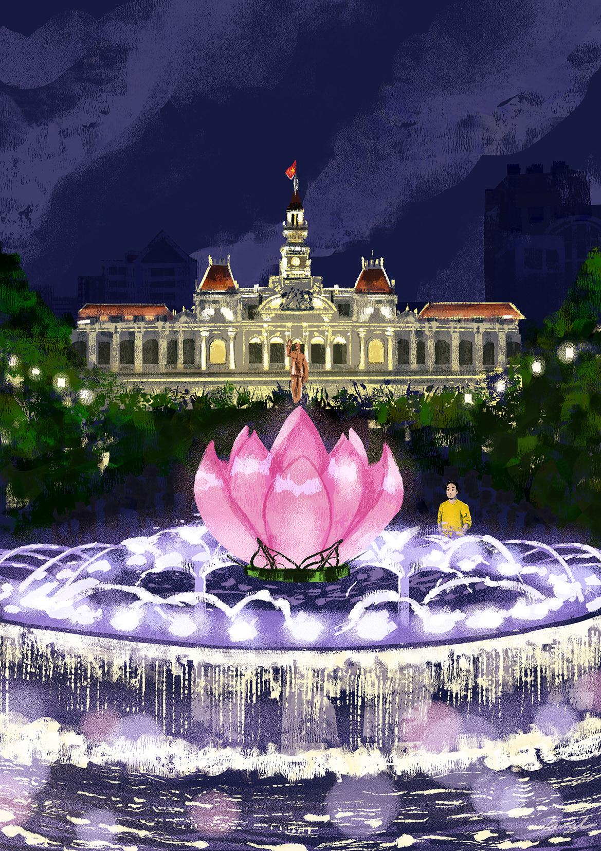 100 Góc Phố SàiGòn 100 Views of Saigon ho chi minh city ILLUSTRATION  saigon vietnam