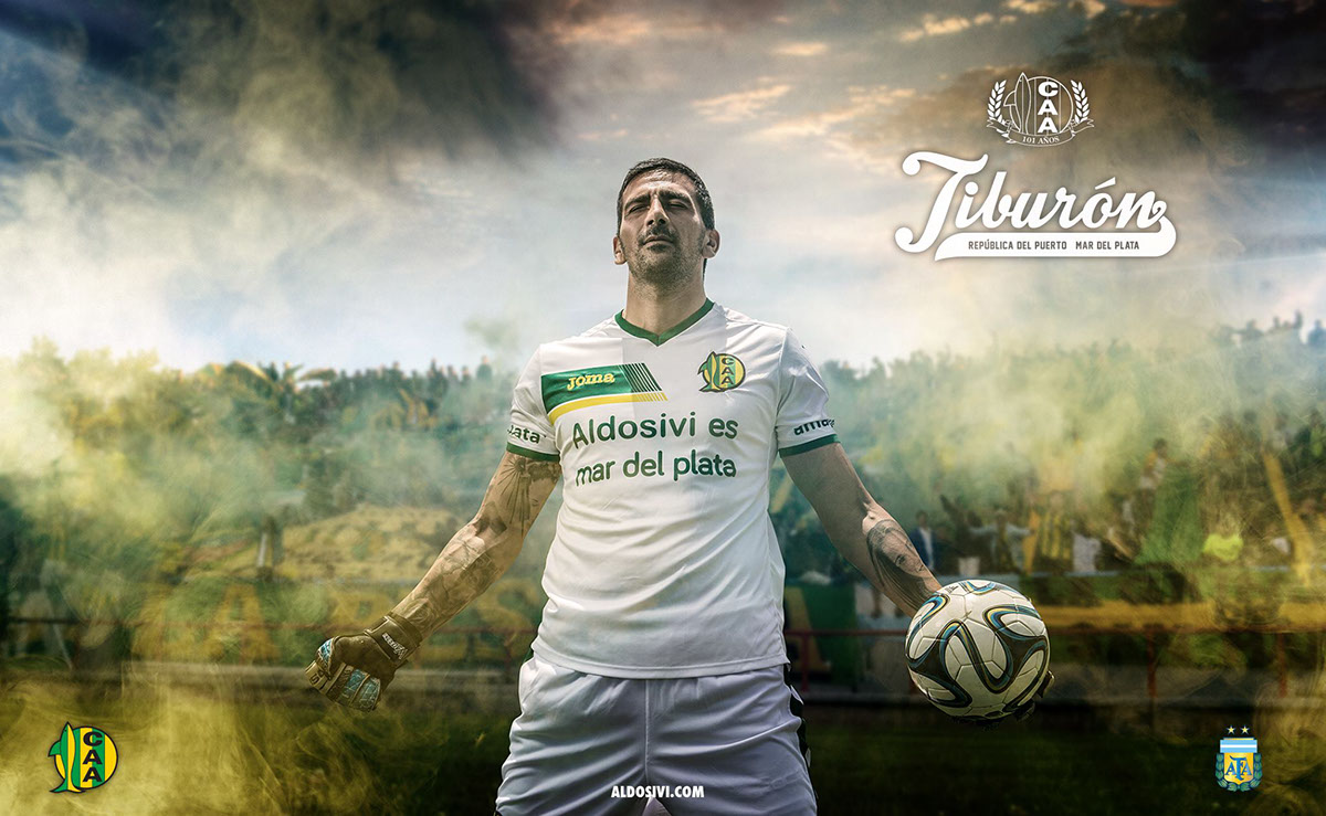 Aldosivi: Club Atlético Aldosivi 2014 On Behance