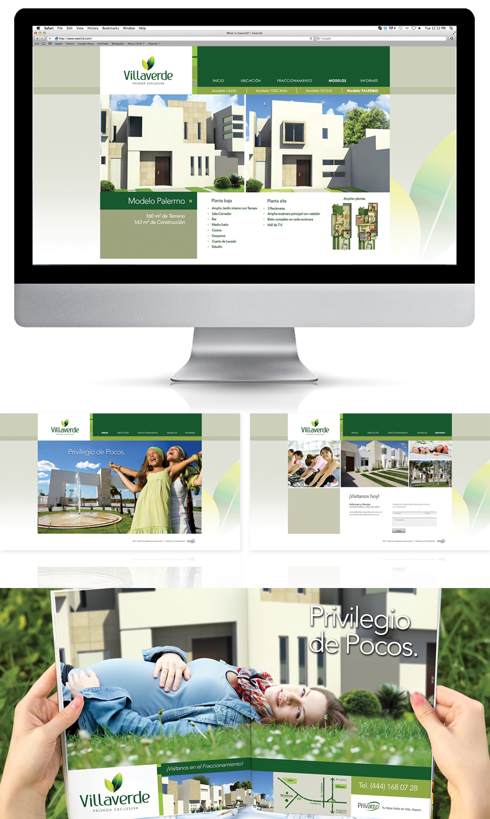 inmobiliaria brochure diseño gráfico campaña publicitaria