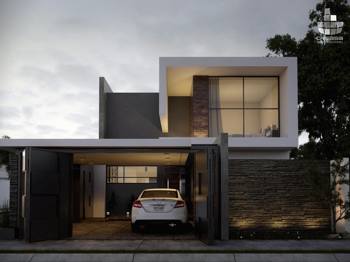 Onix on behance for Construcciones de casas modernas