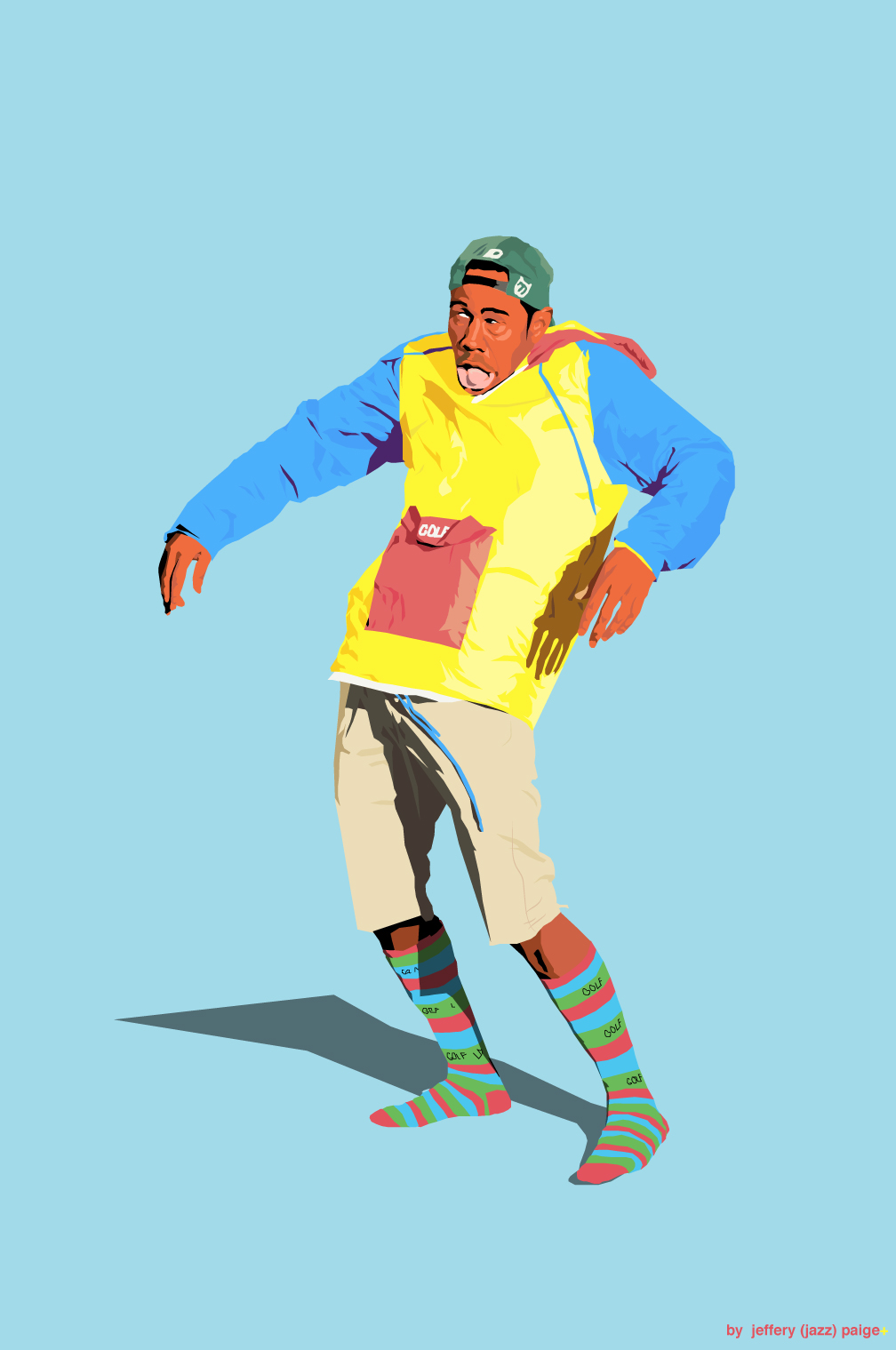 Tyler The Creator Golf Wang Clothing On Behance