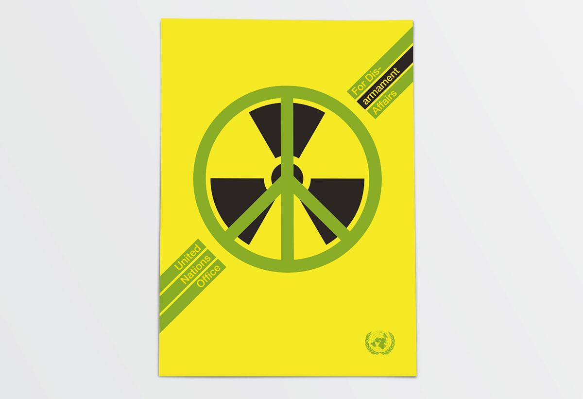 cartel Concurso Onu diseño informacion Propuesta personal