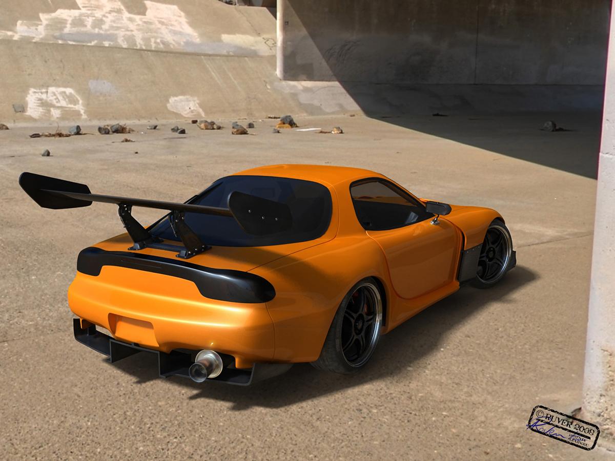 roventa alexandru ruver design 3ds 3d max 3D Stuio Max Autodesk vray 3D car Vehicle automotive