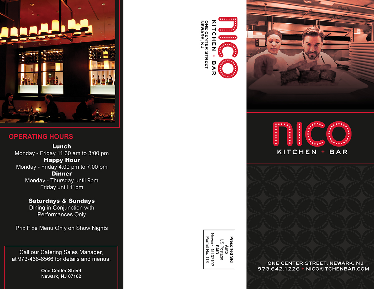 Nico Kitchen And Bar Menu