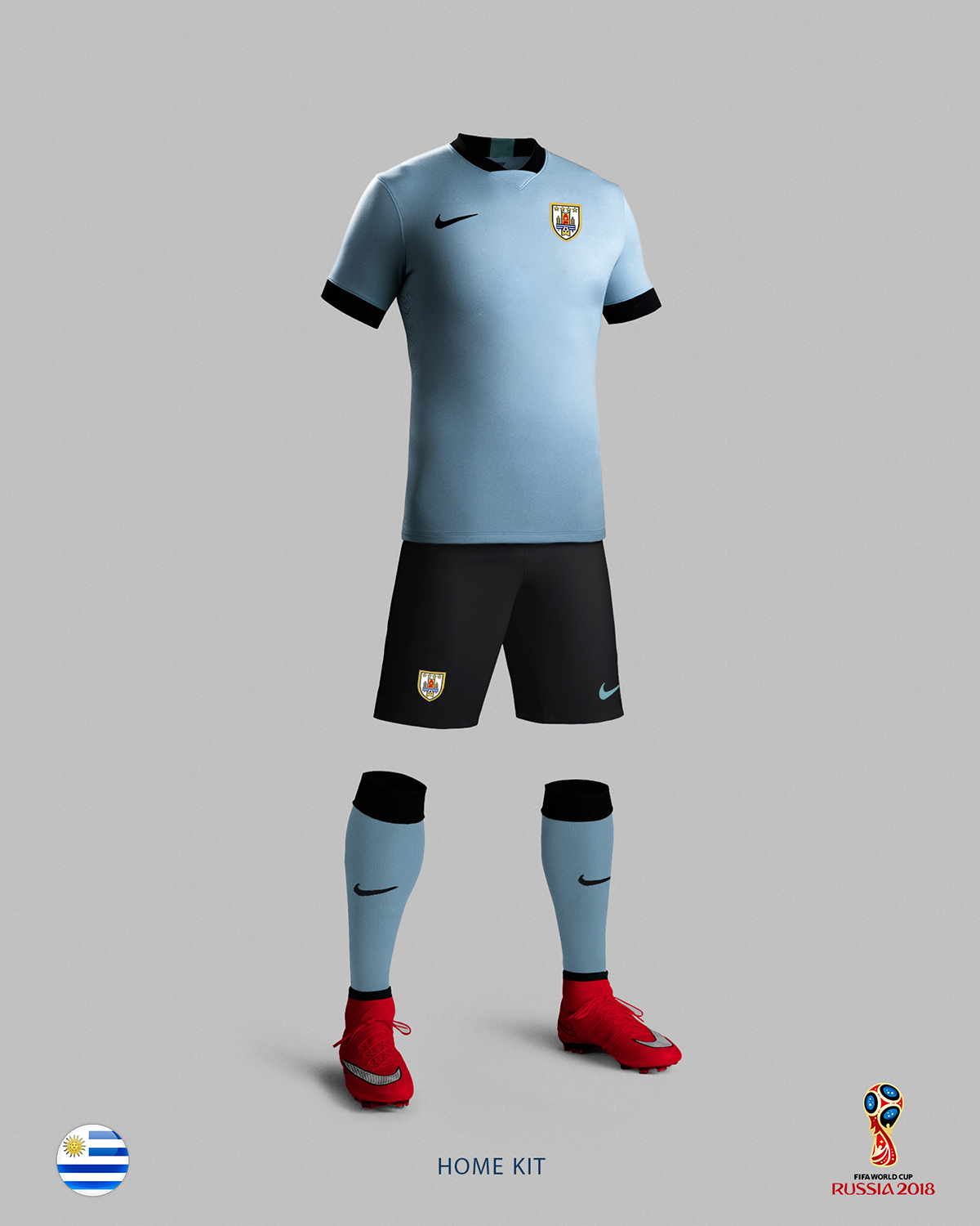 00f93f180 Uruguay Soccer Kit - 2018 FIFA World Cup Russia. Martin Rebollo •. Follow  Following Unfollow. PLEASE DONT FORGET TO APPRECIATE!