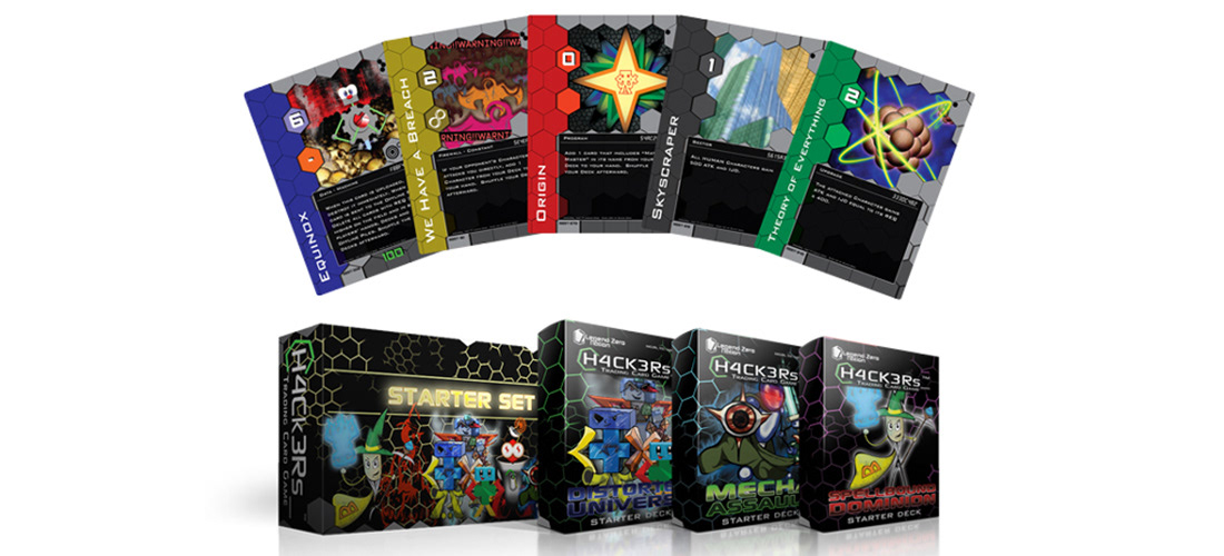 H4Ck3Rs_ Trading Card Game on Behance