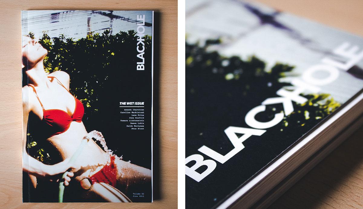 blackhole magazine Erotism iuav print illustrations photos Layout editorial