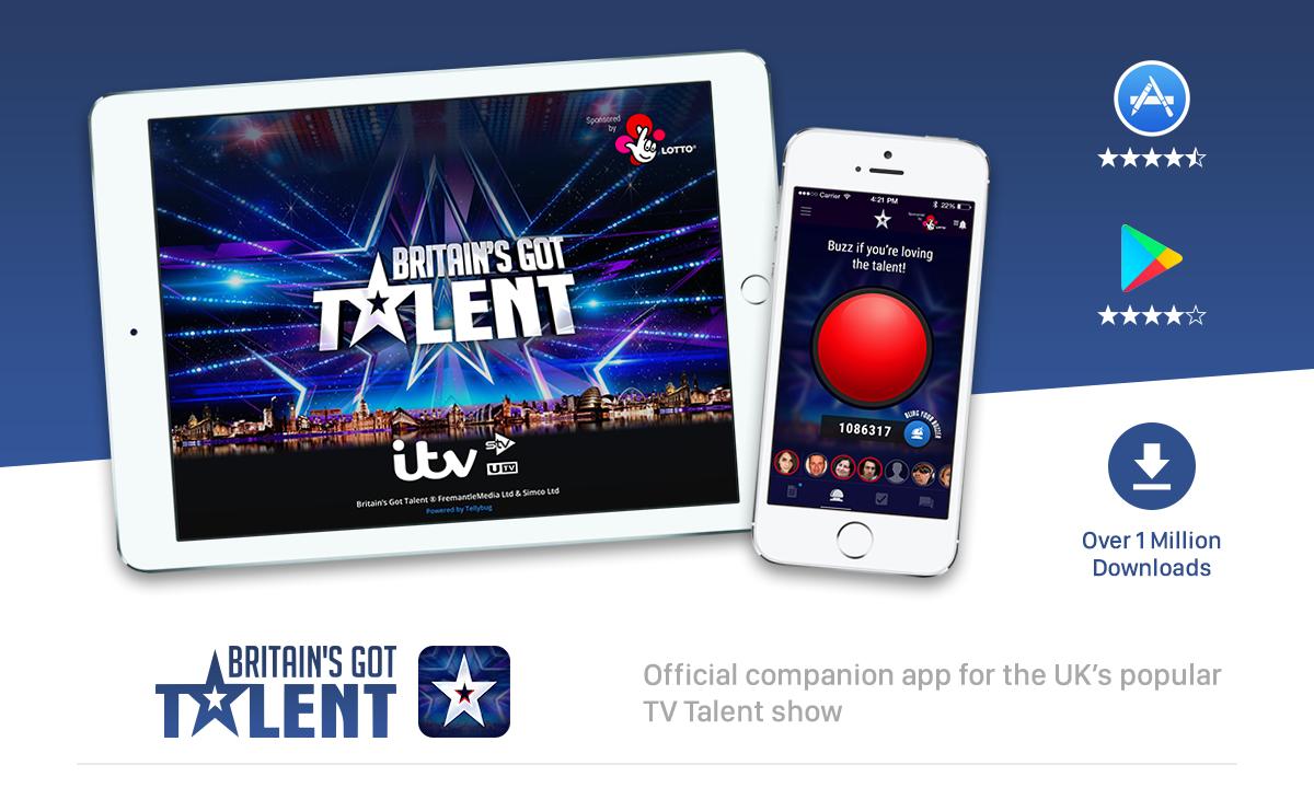BRITAIN'S GOT TALENT - Official companion App on Behance