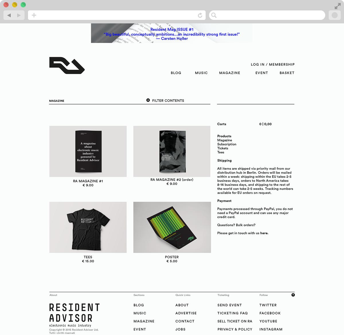 #editorial #Branding #webdesign #artdirection #musicblog #music #magazine
