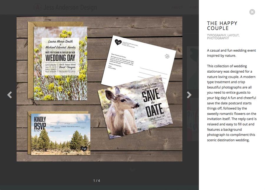 one page website web portfolio portfolio site