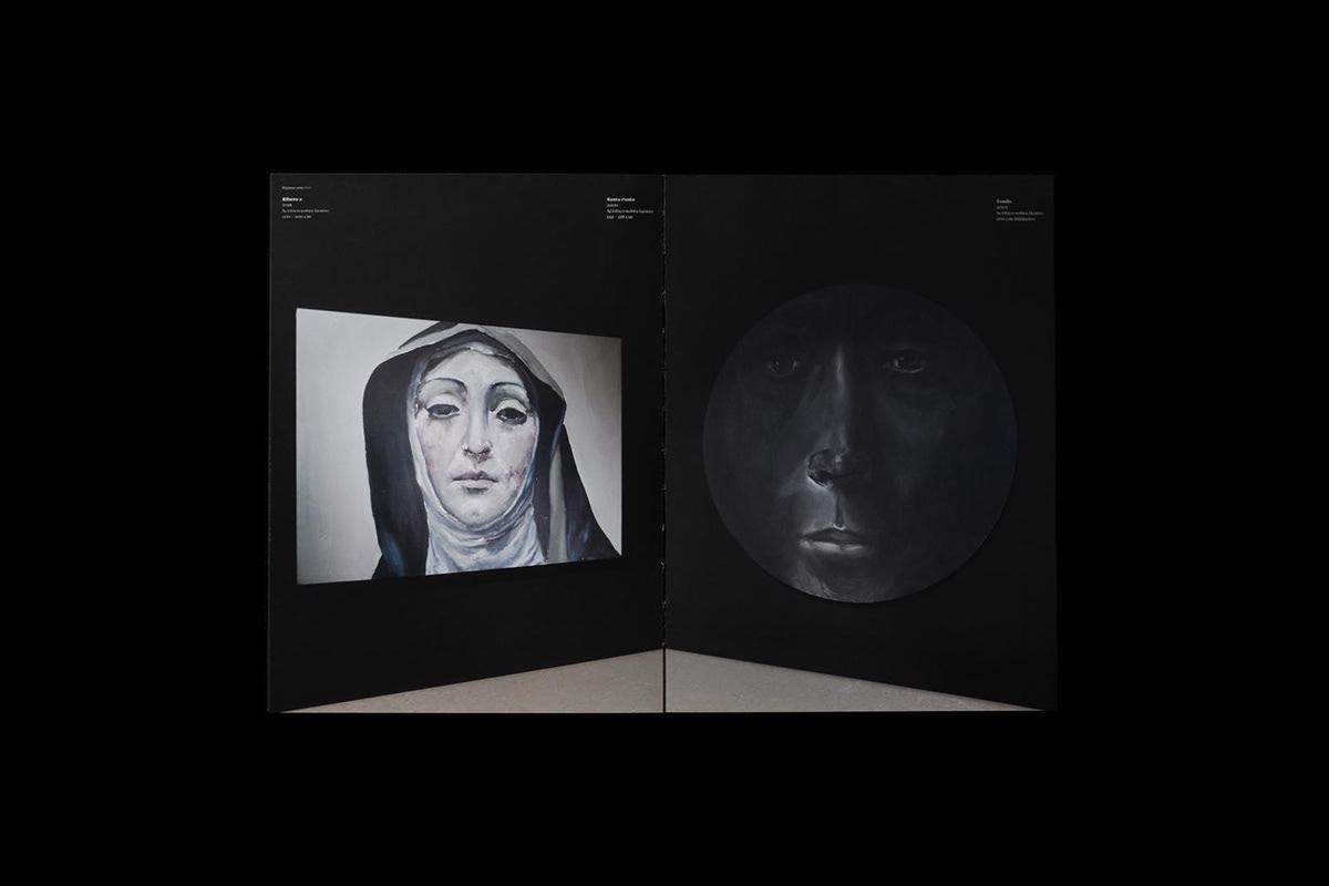 Image may contain: human face and art