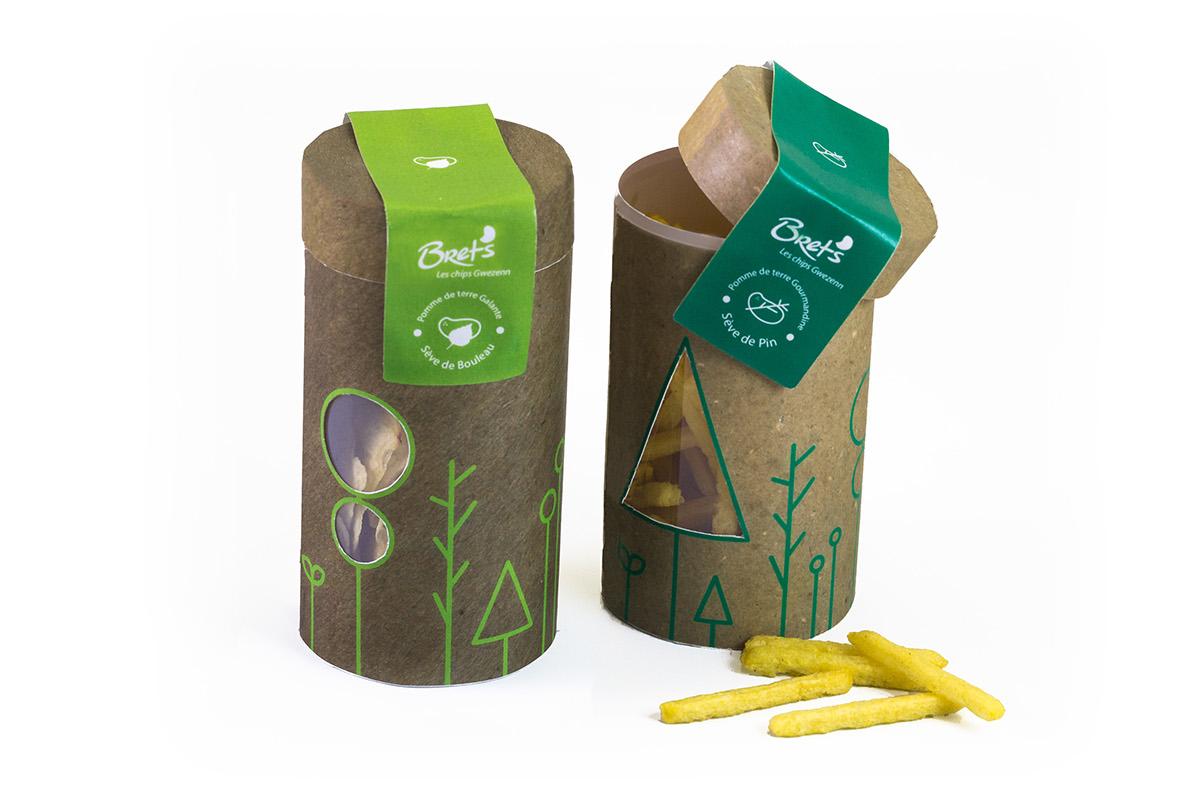 Gwezenn Chips Packaging By Klervie Hamon