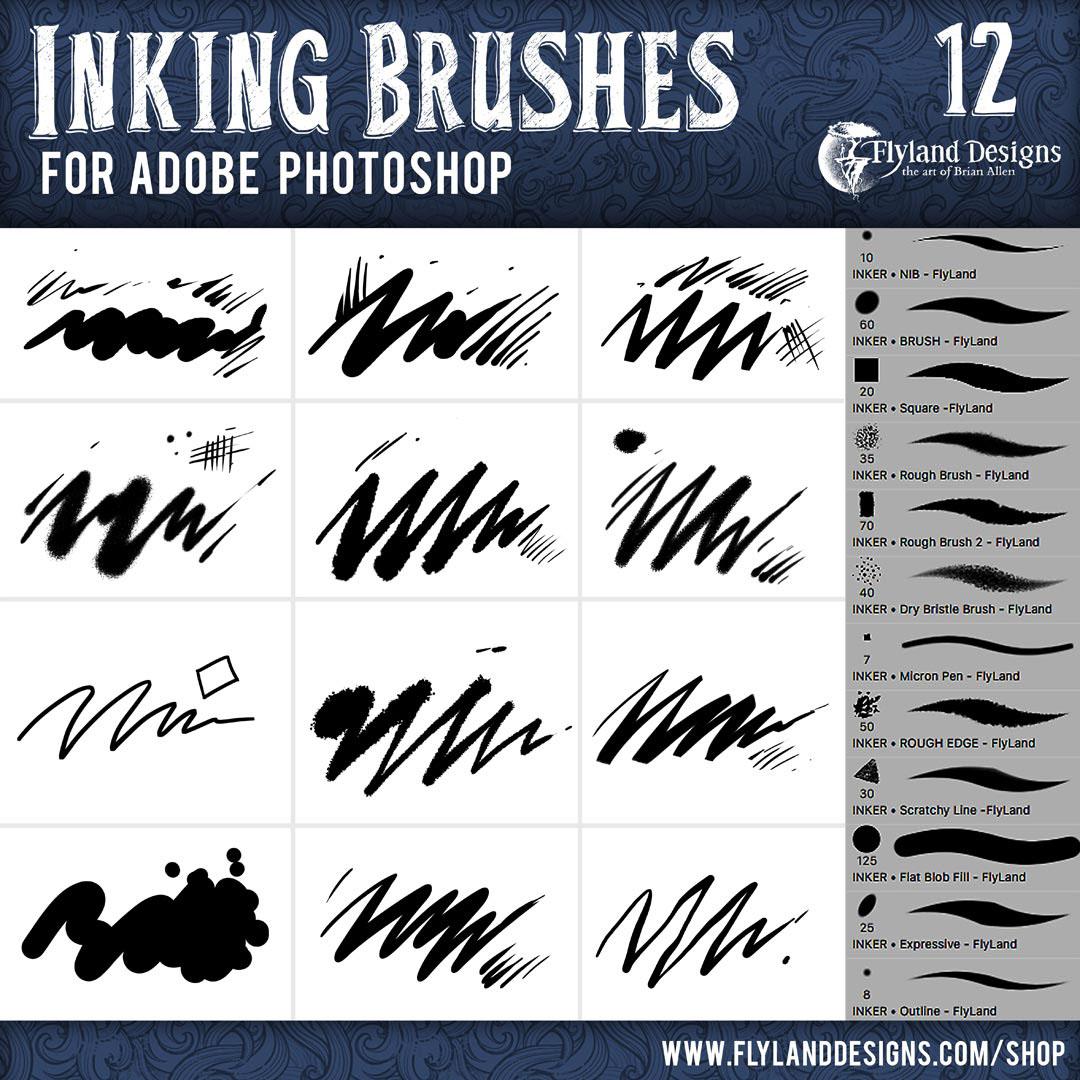 Adobe Photoshop Custom Brush Collection On Behance