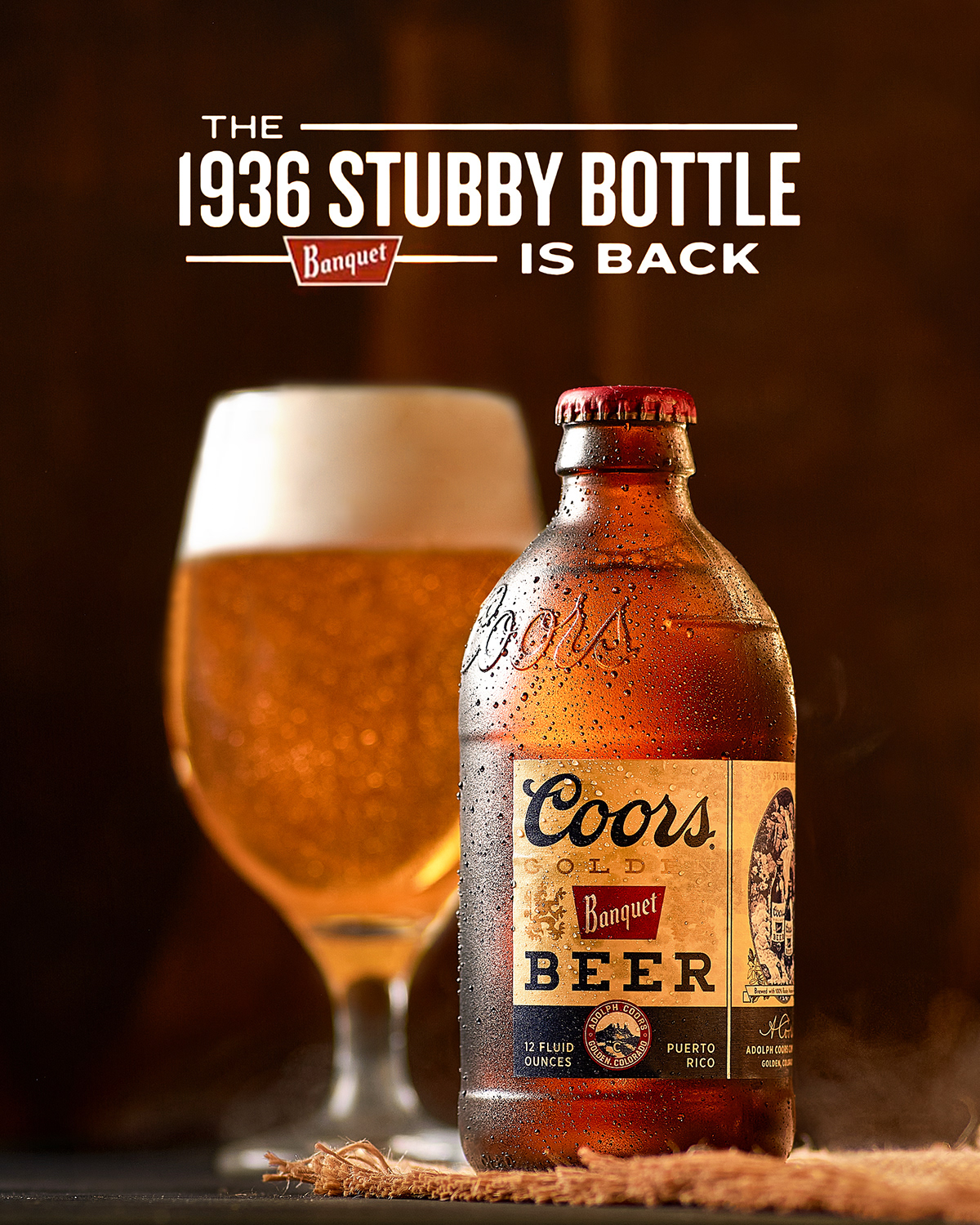 beer bottle Coors Banquet Drink Photography glass old style Photography  product Product Photography stubby