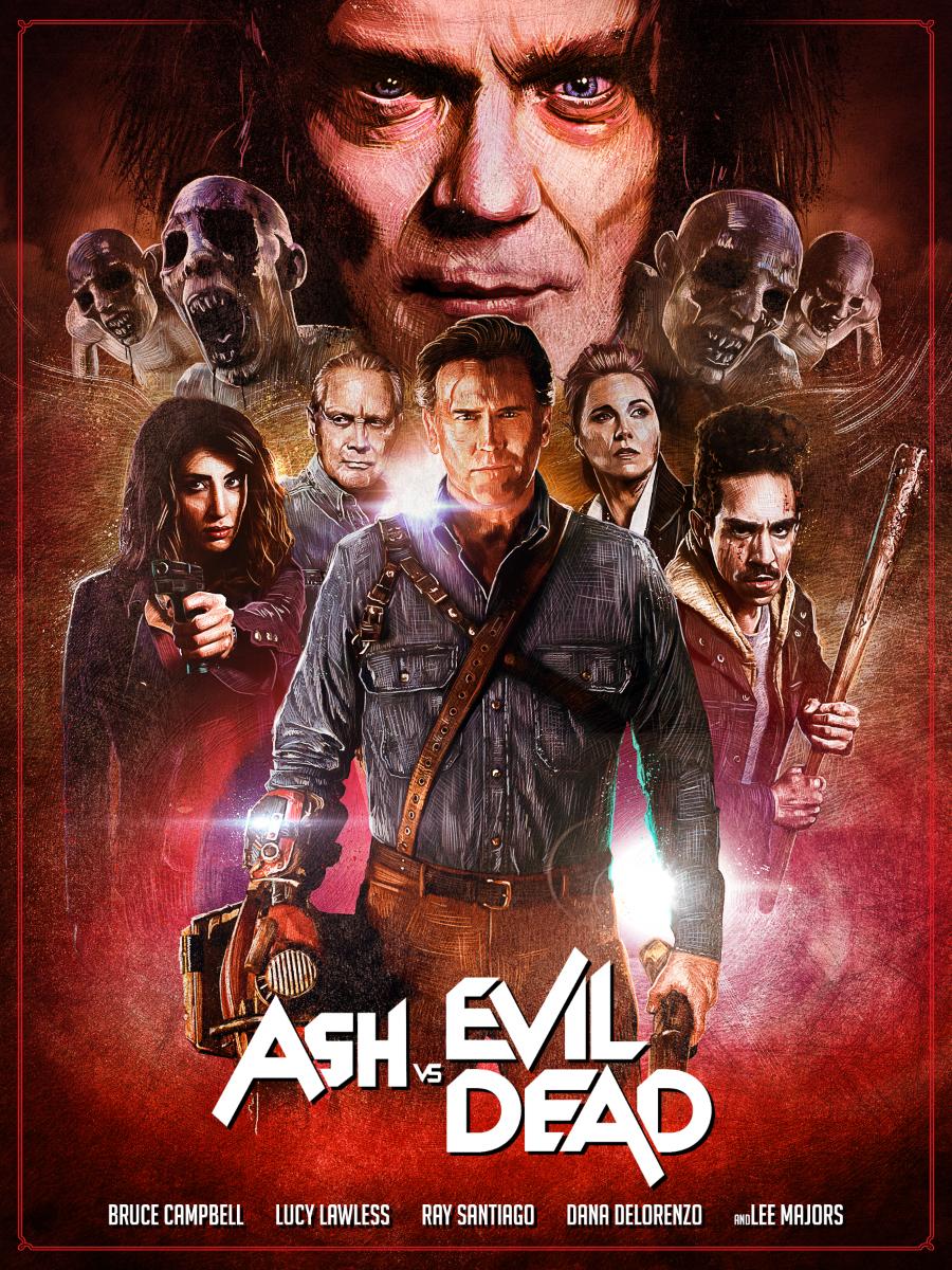 ash vs evil dead 2 on behance