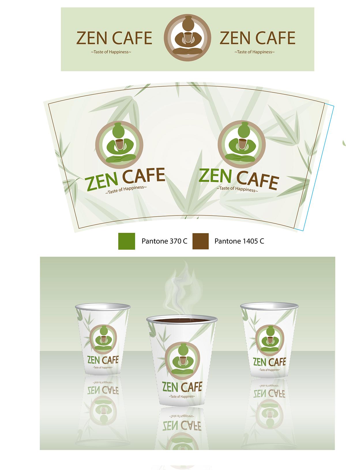 Zen poster design - Zen Cafe Poster Design