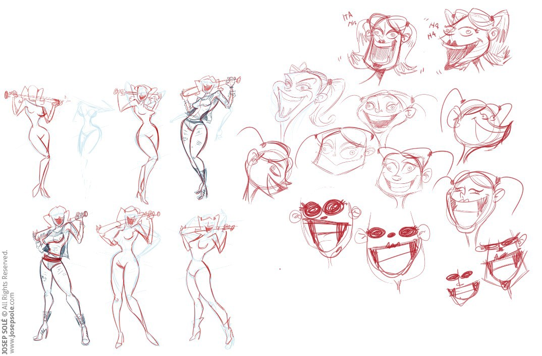 Harley Quinn Character Design On Behance