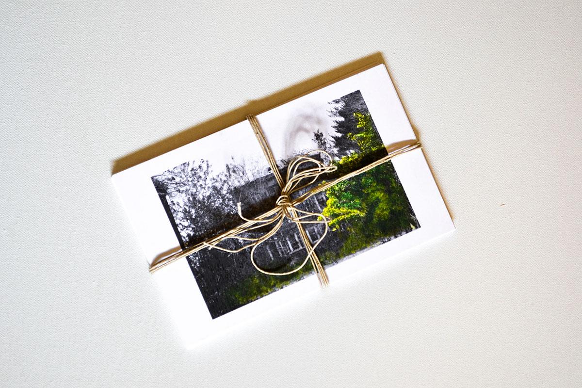 prints postcards design blackandwhite oil paint photo individual Display asylum haunted old Nature