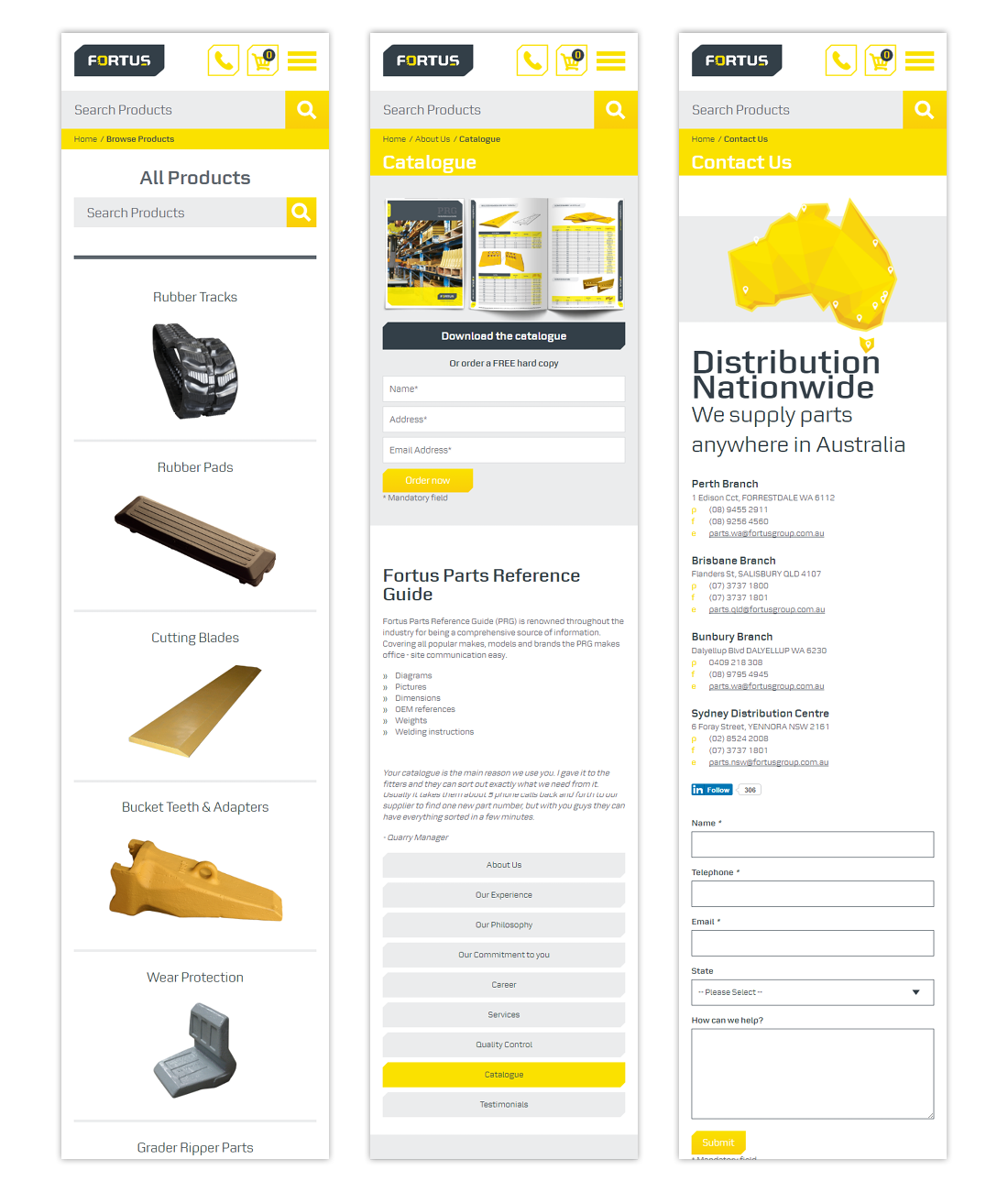 Ecommerce Website optimised user experience graphic design  digital design