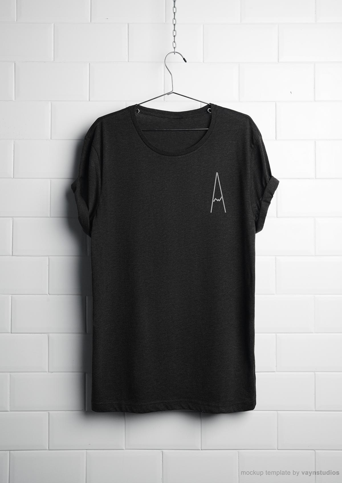 T- Shirt Design Business Cards monotype Andrew John Design brighton