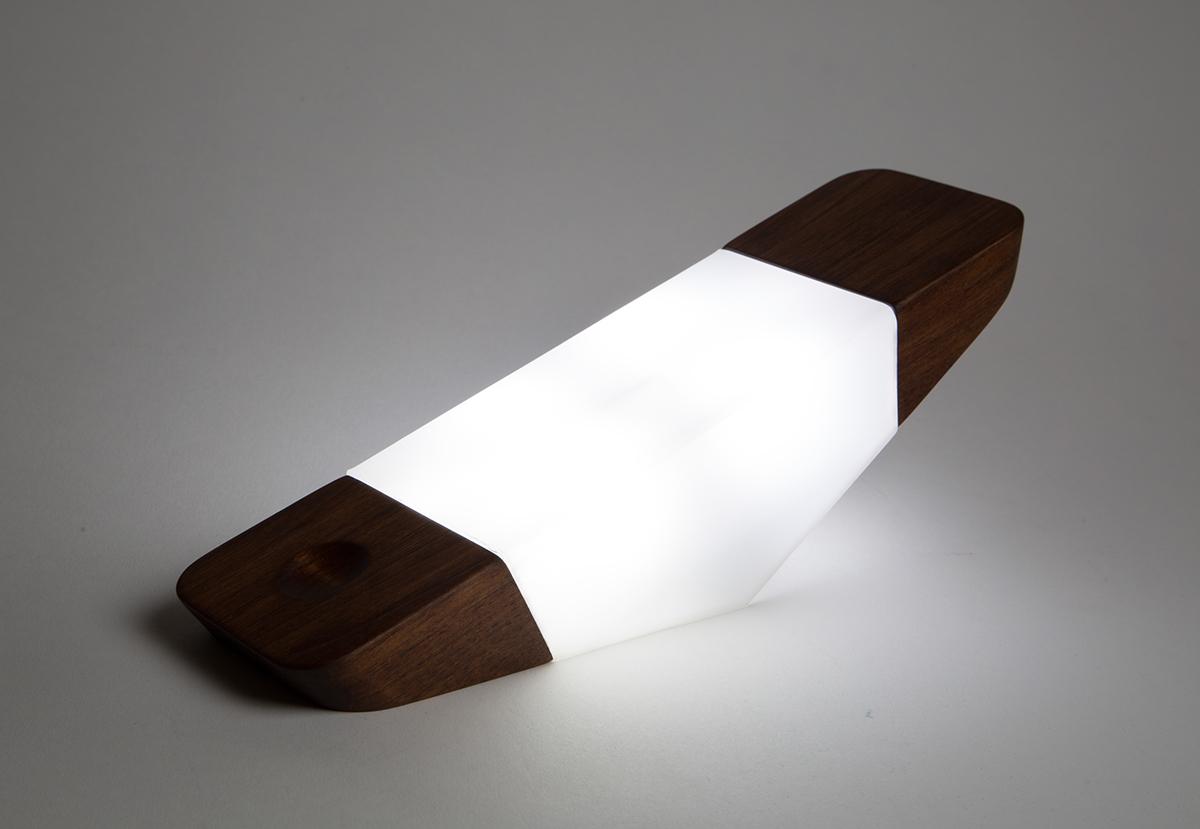 night light wood Fukasawa modern lighting Lamp product concept industrial furniture art bed familiarism SCAD