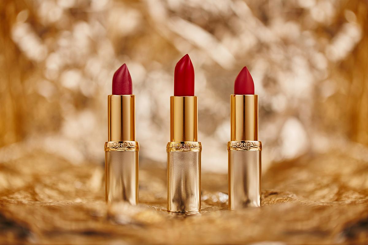 L'Oréal Paris Loreal product Packshot stilllife lipstick lip red