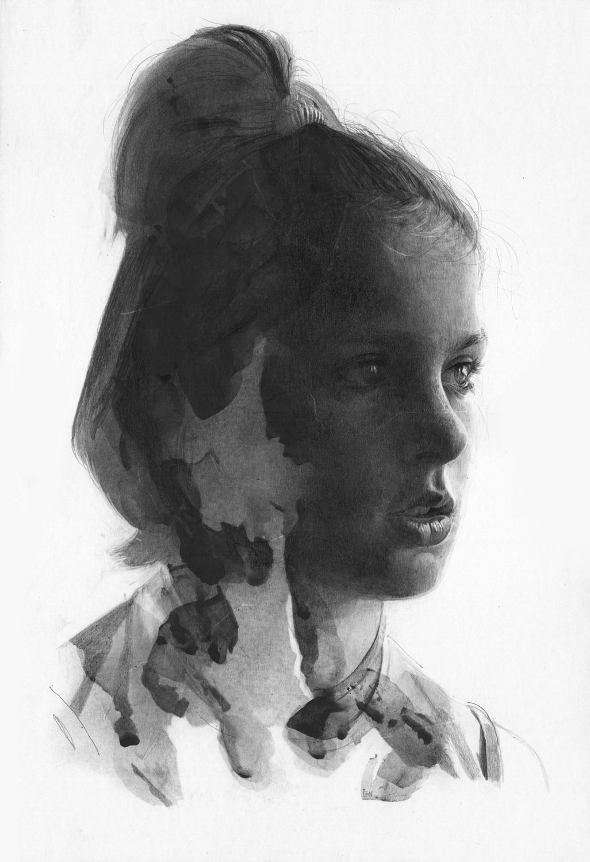 Surreal pencil drawings by Thomas Cian