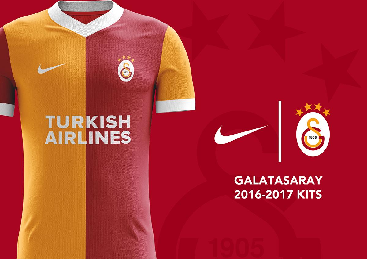 online store cd956 c9b64 Galatasaray Kit Designs 2016-2017 on Behance