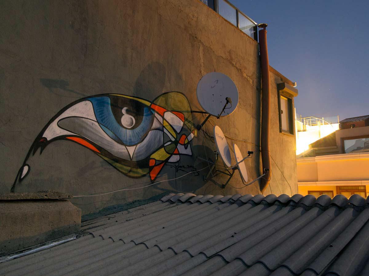 graffiti illustration One_Line istanbul Street-Art urban-art
