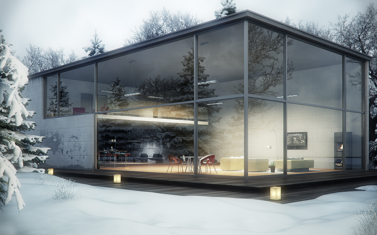 Philippines glass house project on student show - Glass house show ...