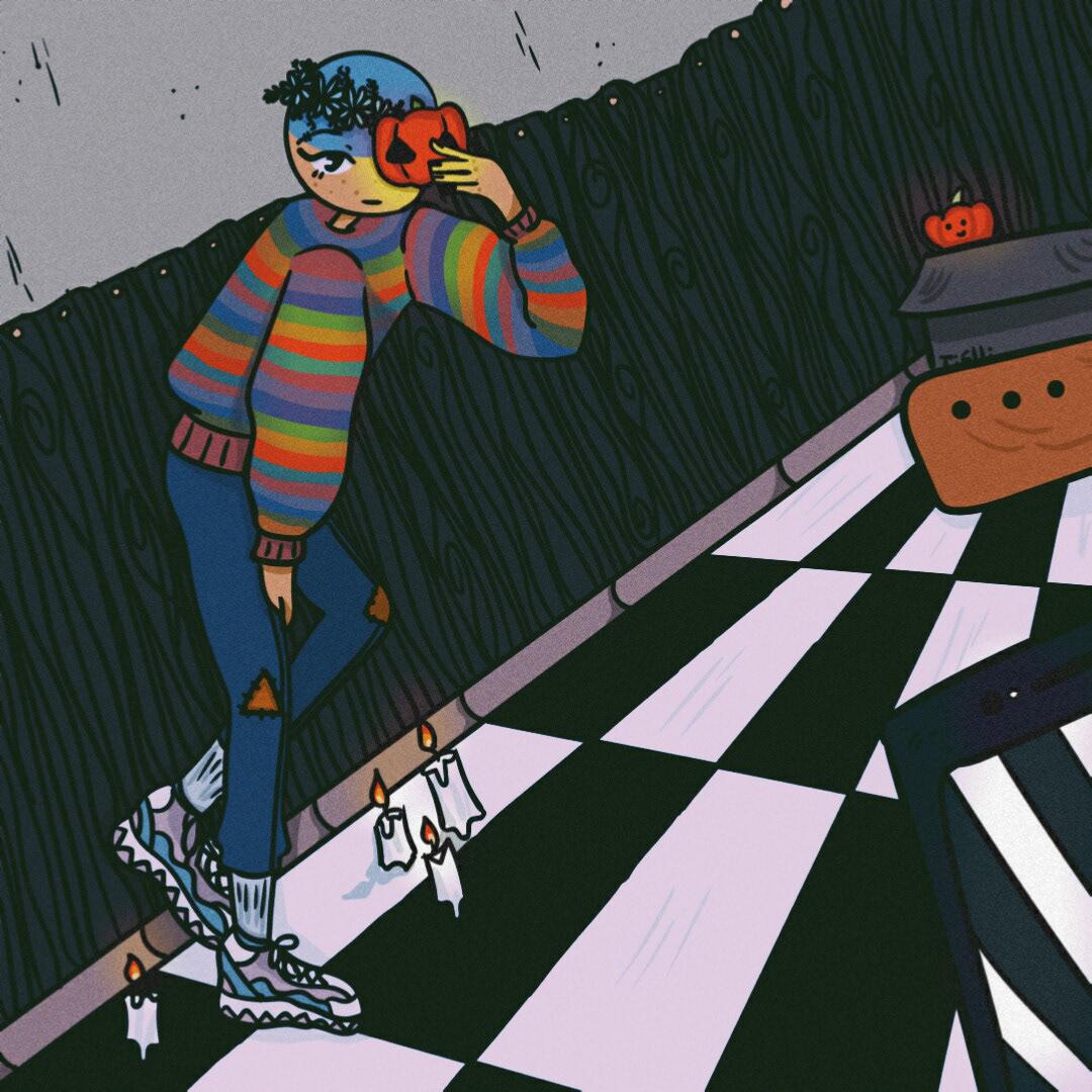 Image may contain: cartoon, illustration and art
