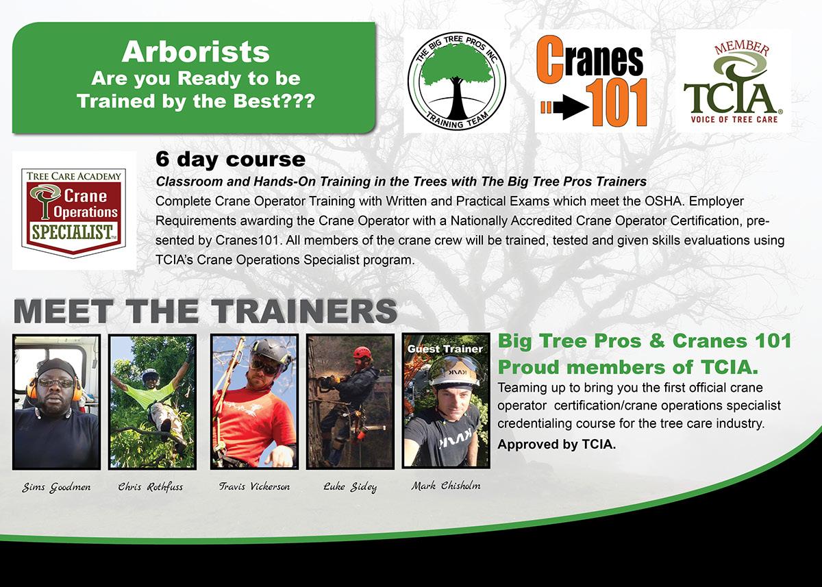 The big tree pros inc arborist crew training team on behance tci magazine advertisement september 2017 1betcityfo Image collections