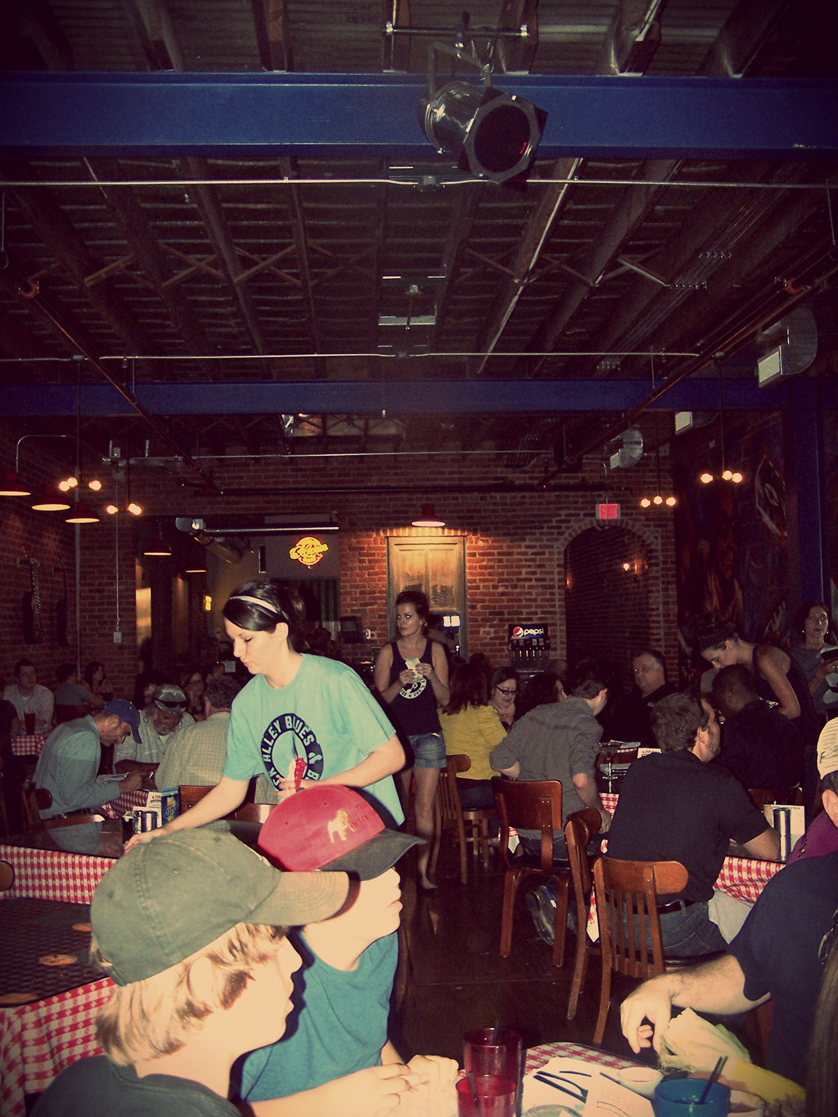 The Engine Room From Way Back: BACK ALLEY BLUES And BBQ EVENT PLANNING/COORDINATION On